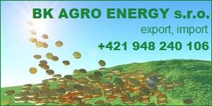 Kliknite na BK AGRO ENERGY s.r.o.