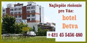 Kliknite na HOTEL DETVA  s.r.o.